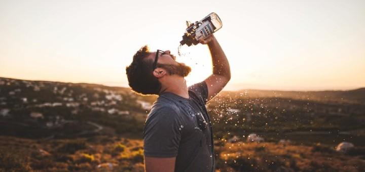 Wasser Diät